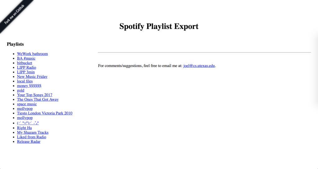 Spotify Visualizer 2018